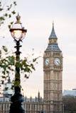 大本钟在伦敦 免版税图库摄影