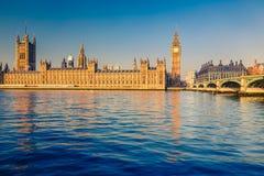大本钟在伦敦 免版税库存图片