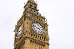 大本钟在威斯敏斯特,伦敦 库存图片