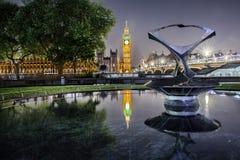 大本钟尖沙咀钟楼和议会房子 库存图片