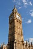 大本钟钟楼伦敦英国 免版税库存图片