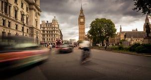 大本钟,中央伦敦 免版税库存照片