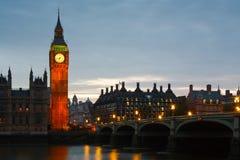 大本钟,伦敦。 免版税库存照片