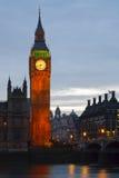 大本钟,伦敦。 免版税库存图片