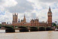 大本钟,伦敦 免版税库存照片