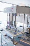 大机器在实验室里 库存照片