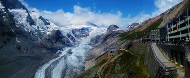 大格洛克纳山冰川 免版税库存图片