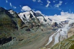 大格洛克纳山冰川 图库摄影