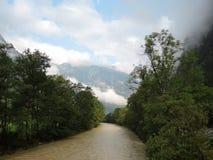大格洛克纳山高山路 库存照片