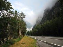大格洛克纳山高山路 免版税库存照片