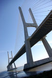 大桥梁 免版税库存图片