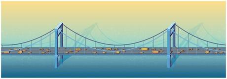 大桥梁 库存例证