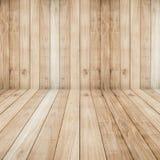 大棕色地板木板条纹理背景 免版税库存照片