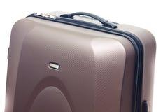大棕色手提箱 库存图片