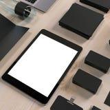 大模型企业模板 高分辨率 免版税库存照片