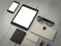 大模型企业模板 免版税库存照片