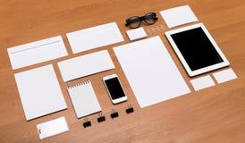 大模型,空白的烙记的元素 免版税库存照片