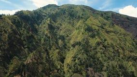 大横向山山 Jawa海岛,印度尼西亚 影视素材