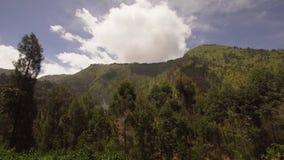 大横向山山 Jawa海岛,印度尼西亚 股票视频