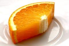 大橙色片式 免版税库存照片