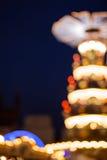 大气圣诞灯 免版税图库摄影
