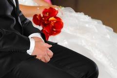 大气婚礼 免版税库存图片