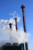 大气污染和全球性变暖-储蓄照片 免版税库存照片