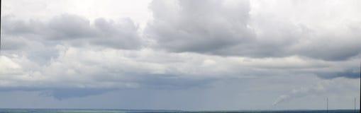 大气污染照片 图库摄影
