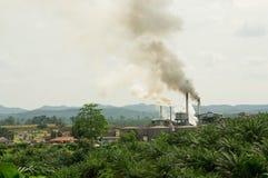 大气污染 库存照片
