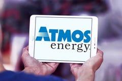 大气能量商标 免版税库存图片