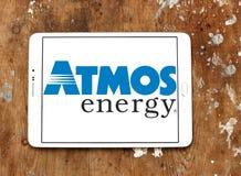 大气能量商标 免版税库存照片