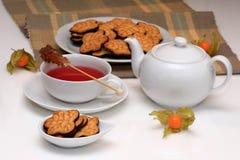 大气茶 免版税库存图片