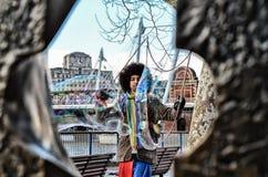 大泡影在伦敦 库存图片