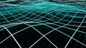 大流经网际空间的数据和信息 皇族释放例证
