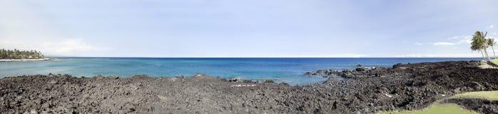 大海岸喂海岛 库存图片