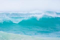 大海浪 库存照片