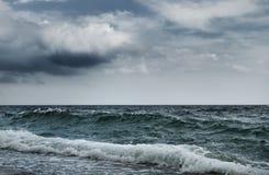 大海浪 免版税图库摄影