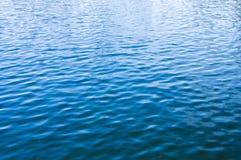 大海表面纹理 图库摄影