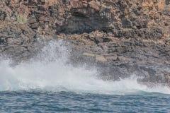 大海洋飞溅 库存图片