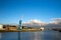 大港口用法语Dieppe 免版税图库摄影