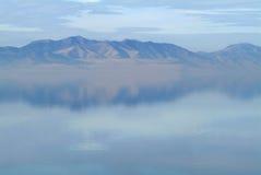 大湖盐 库存照片