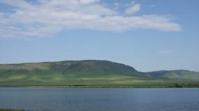 大湖 库存图片