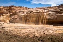 大瀑布亚利桑那 库存照片