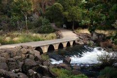 大瀑布峡谷储备,朗塞斯顿 免版税库存照片