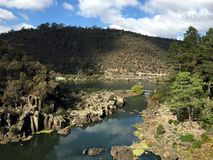 大瀑布峡谷储备,朗塞斯顿 图库摄影