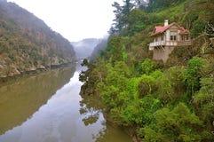 大瀑布峡谷预留 库存图片
