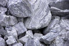 大灰色石头 免版税库存照片