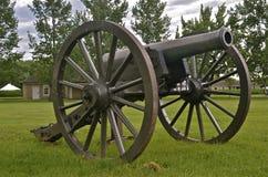大炮准备好射击 库存照片