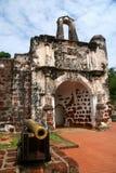 大炮和堡垒 库存图片