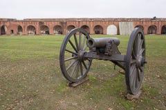 大炮和堡垒 图库摄影